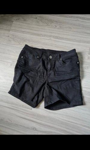 Unbekannte Marke Jeansowe szorty czarny