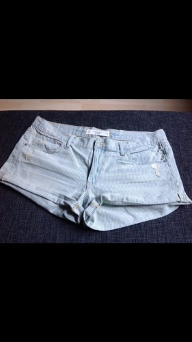 Abercrombie & Fitch Shorts light blue