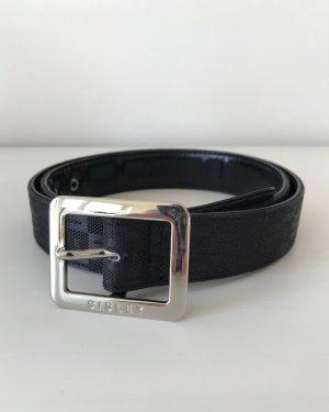 Sisley Cintura in tela nero