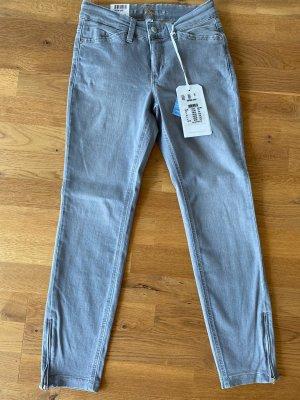 Mac Skinny Jeans light grey