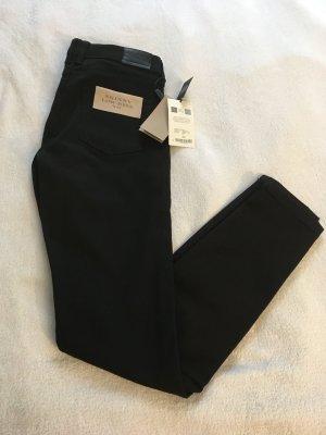 Burberry Brit Jeans skinny nero Cotone