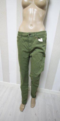 Forever 21 Pantalone a sigaretta verde oliva