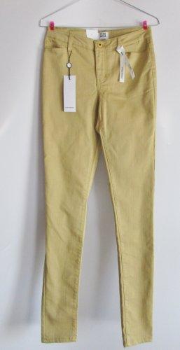 NEU Skinny Stretch Jeans Hose Curry Vero Moda Größe XS 34 W27L34 Gelb 5Pocket Jeggings