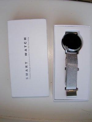 unbranded Horloge met metalen riempje zilver