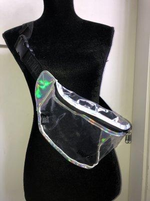 Neu! Snipes Bauchtasche Tasche Clutch Gürteltasche Holografisch Metallic Durchsichtig