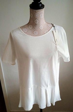 NEU - SOMEDAY, Shirt, Kurzarm, 40, weiss, toller Schnitt, NP 69€, STYLISH