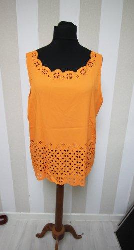 Camicia a tunica arancione