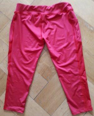 *NEU* Sport Fitness Laufhose, Trainingshose, Sporthose, 42, rot, Tasche