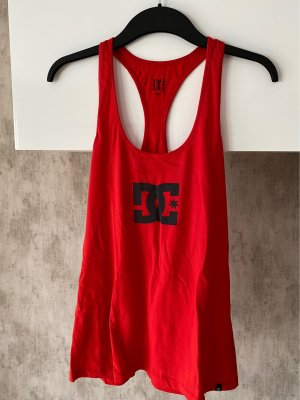 DC Sports Tank red
