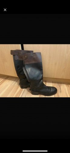 Marc O'Polo Combat Boots brown-black