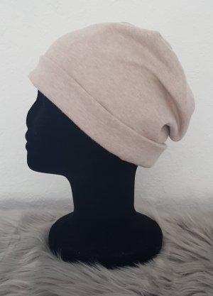 Chapeau en tissu crème