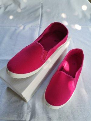 NEU Stoffschuhe Slipper Pink Gr. 39