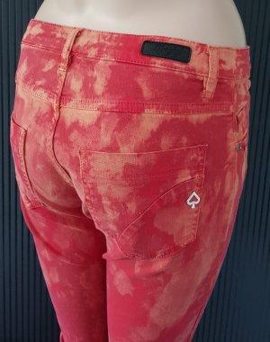 Maryley Stretch Jeans orange-red