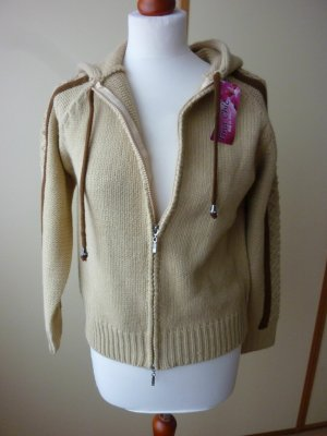 Tina Chic Coarse Knitted Jacket multicolored