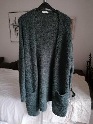 Knitted Coat petrol
