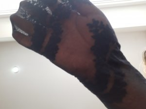 NEU Strumpfhose schwarz Rosenmuster