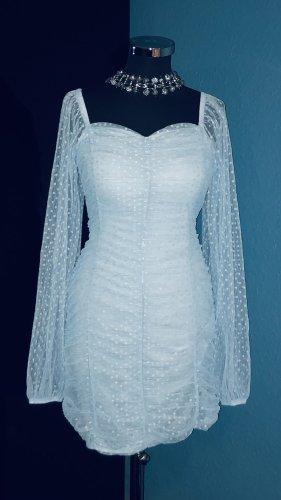 Asos Robe de cocktail bleu clair