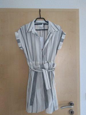 The Room Kopertowa sukienka biały-czarny Poliester