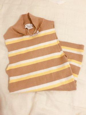 NewYorker Sweter bez rękawów z cienkiej dzianiny Wielokolorowy