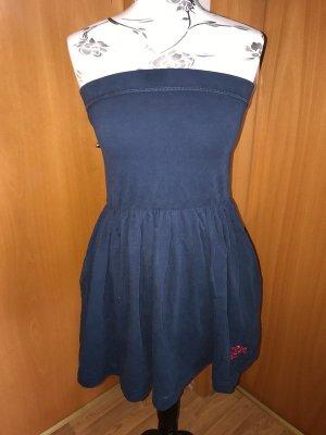 Superdry Bandeau Dress dark blue