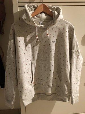 NEU Sweatshirt MAZINE Gr. S Pullover Flamingo grau