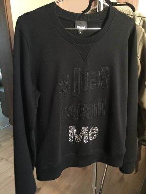 Neu Sweatshirt mit Glitzer von Just Cavalli