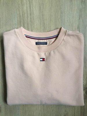 Tommy Hilfiger Sweatshirt abricot coton