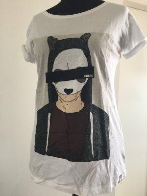 Alife & Kickin Camiseta blanco Algodón