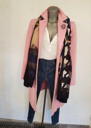 Taifun Collection Cappotto lungo fino a terra rosa pallido-rosa chiaro
