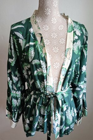 talk about Kimono Blouse multicolored viscose