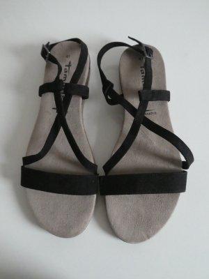 NEU - Tamaris – Damen Sandalette, schwarz