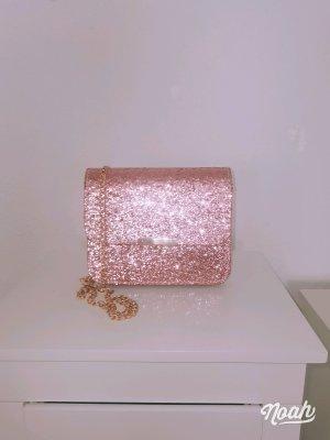 keine Marke Tradycyjna torebka w kolorze różowego złota