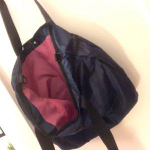 Tchibo / TCM Sporttas donkerblauw-roze