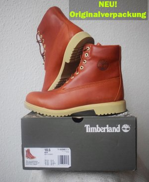 Neu! Timberland Herren Stiefeletten TBL 1973 Newman Waterproof Boot rust full grain 44,5