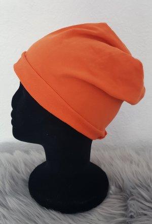 Czapka z tkaniny pomarańczowy