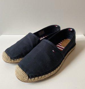 NEU Tommy Hilfiger Espadrille Schuhe Turnschuhe Halbschuhe in dunkelblau