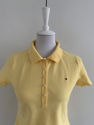 Tommy Hilfiger Polo giallo pallido Cotone