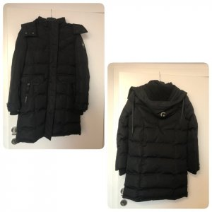 canadian peak Winter Coat black