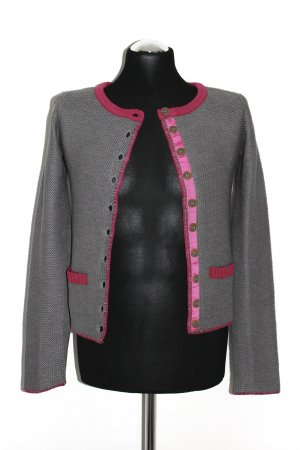 bpc bonprix collection Cardigan tricotés argenté-violet