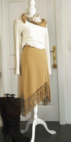 Fervente Fringed Skirt multicolored polyester
