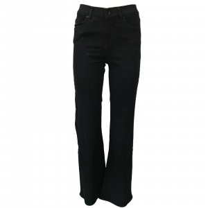 Seven7 Denim Flares black cotton