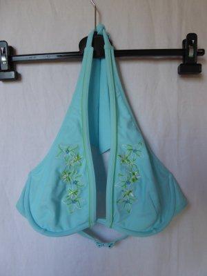 NEU: Triangel-Bügel-Bikini-Oberteil mit Stickereien und Perlen von Esprit