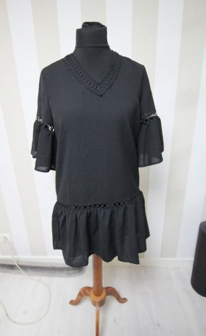 Sukienka tunika czarny