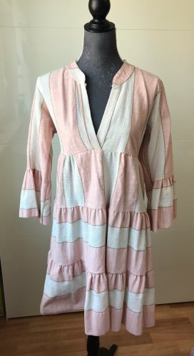 Made in Italy Robe tunique rosé-rose
