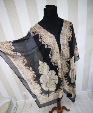 NEU Tunika Poncho Cape Paisley Kimono chic
