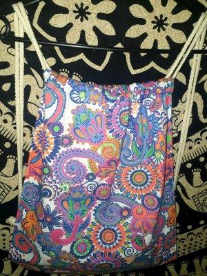 neu Turnbeutel Tasche Hippie Festival Goa