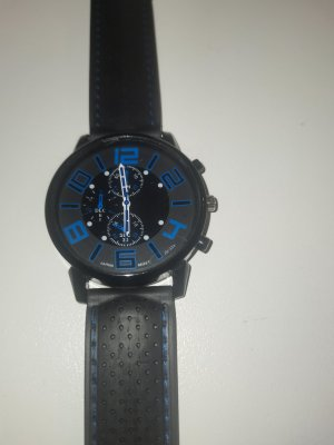 keine Marke Analog Watch black-blue