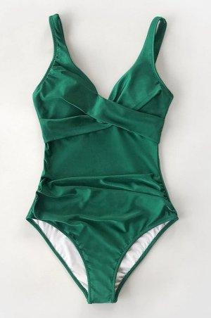 Costume da bagno verde Lycra