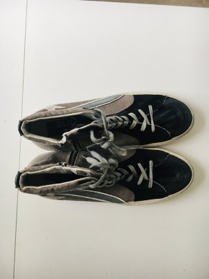 Golden Goose High Top Sneaker black leather