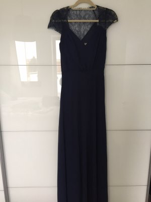 Asos Tall Evening Dress dark blue